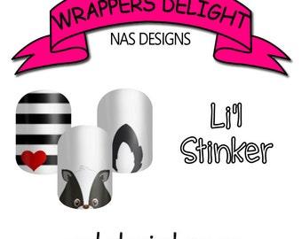 Li'l Stinker Nail Wraps