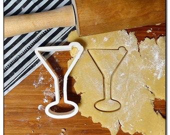Cookie Cutter 3D Martini Glass