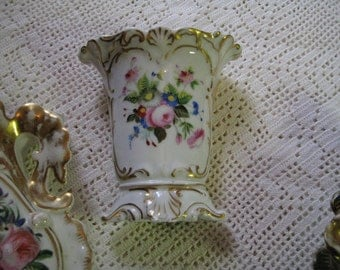 A Paris porcelain wedding vase