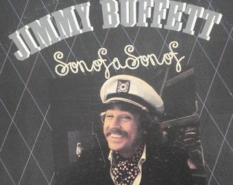 Jimmy Buffett vinyl record album, Son of a Son of a Sailor vintage vinyl record