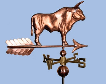 Copper Bull Weathervane BH-WS-145