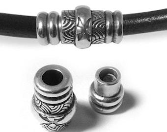 Antique Silver Magnetic Bracelet Clasp (ZM11714)