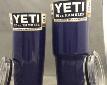 Yeti Rambler powder coated NAVY BLUE