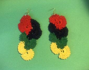 Cascade African Earring's!