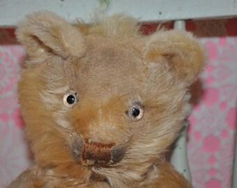"""16"""" mohair antique teddy bear 1930's"""