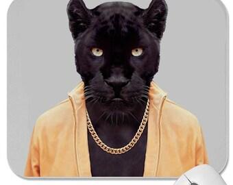 Black tiger mouse pad custom design hot news free shipping