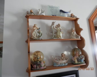 Hand Crafted Classic Mortise & Tenon Shelf