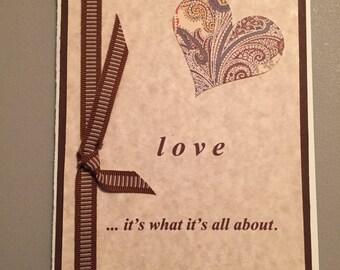 Anniversary, Valentine card (Item No. 0207)