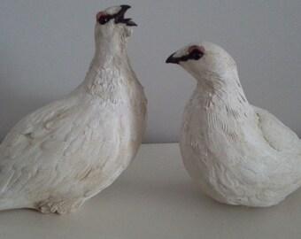 Ceramic Game Birds