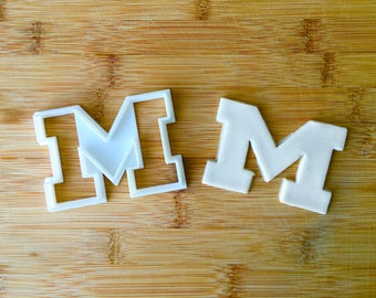 University of Michigan Cookie Cutter