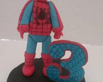 Spiderman Cake Etsy