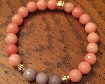 Peach Bracelet
