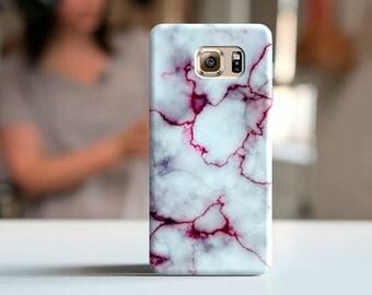 White&red marble case, Note 7, Samsung s7, galaxy s6 active, samsung s6, samsung A5 case, samsung note 5, galaxy case, S6 edge, Samsung j7