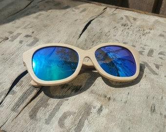 Oak Wood Sunglasses by RUNESILK