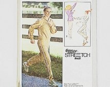 70s Running Suit Pattern | Simplicity 8887 Pullover Top & Pants Pattern | 70s Sewing Pattern