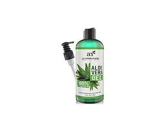 ArtNaturals Aloe Vera Gel for Face, Hair & Body - Certified Organic 12 oz