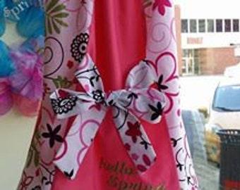 Spring Dress Little Girl Embroidered
