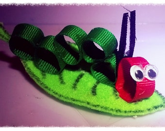 Hungry Caterpillar Hairbow