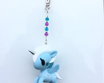 Tokidoki Unicorno YUKI Custom Bag Charm | Unicorno | Unicorn Fob |   TKDK  Blindbox Series 4