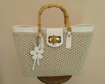 Elizabeth bag cream