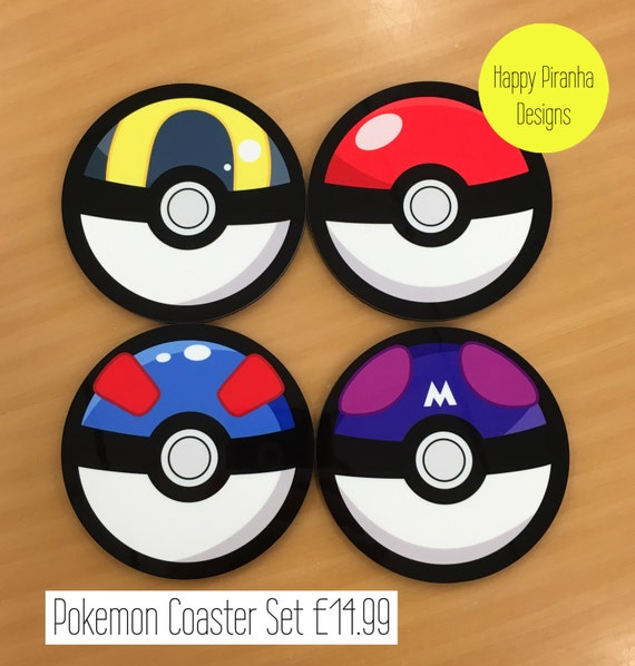 Pokemon Pokeball Coaster
