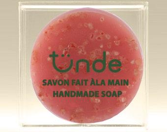 Himalayan pink salt natural handmade soap