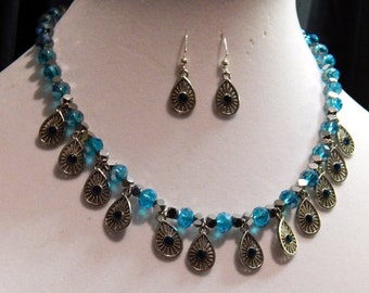 Southern Skies Blue Necklace