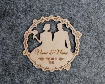 Wedding invitations 20pcs - Wooden engraved invitation - Plywood invitations - Craft invitations - Customized wedding invites - Weding favor