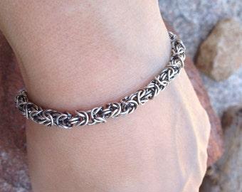 Byzantine Style Silver bracelet