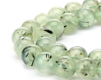 Smooth Well Polish Prehnite Gemstone Round Beads Approxi 15.5 Inches per Strand.R-S-PRE-0396