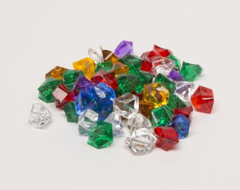 Set Crystal Gems (51 gr.) - approx. 100 pieces
