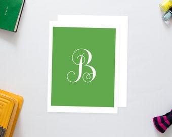 Letter B Monogram Print
