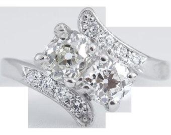 Vintage Platinum Ring circa 1950
