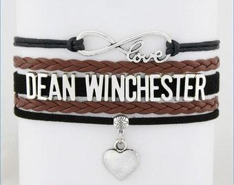 DEAN WINCHESTER Infinity Love Bracelet