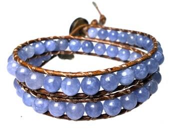 Bracelet classic Aquamarine 384
