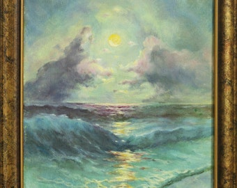 Sea Moon by Aivazovsky