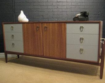Vintage Restored Tola Wood Sideboard