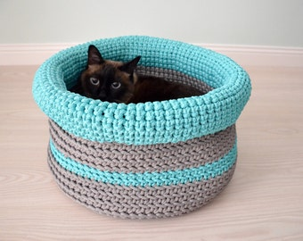 Kids toy storage, Nursery basket, Toys basket, Laundry basket, Storage bin, Girls room basket, Boys room basket, Crochet basket