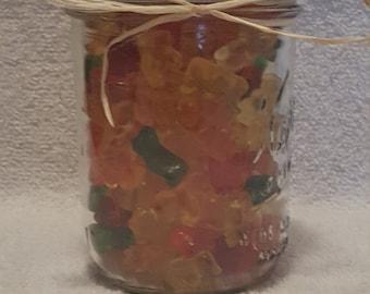 Haribro Gummi Bear Mason Jar