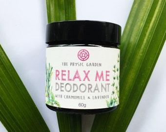 Relax Me Natural Deodorant 60g
