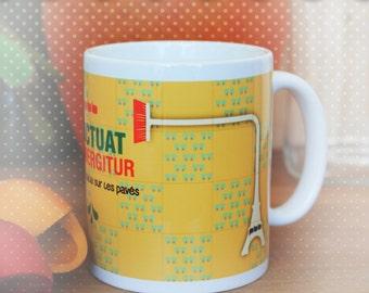 """Mug """"fluctuat nec mergitur"""""""