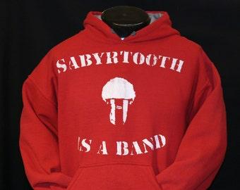 Sabyrtooth Red Hoodie