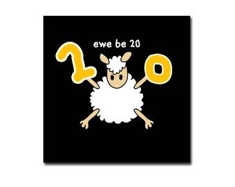 Black sheep cards (birthday)