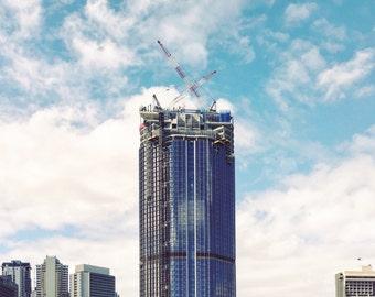 Brisbane Skyline Art Photography
