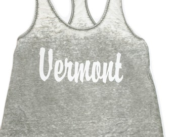 Vintage Style Vermont Tank Top- Pale Green