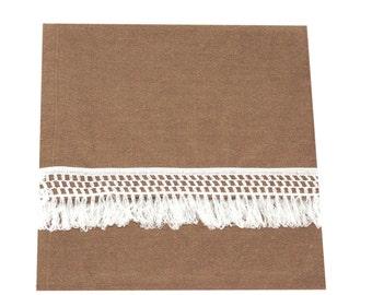 Outdoor Blanket Throw 38 x 68,  in Khaki,Coral, Grey/Black Stripe, Rose, Wide Stripe Black/White/Charcoal