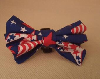 Small dog collar bow tie