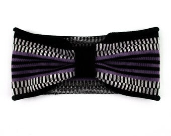 Hair Band Headscarf Bandeau violet