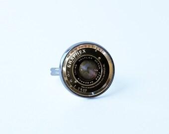 Camera lens ring Camera ring Camera lens jewelry Lens ring Photographer gift Photography jewelry Art ring Lens jewellery Girl's jewelry