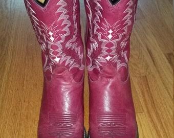 Pink/Mauve Cowboy Boots